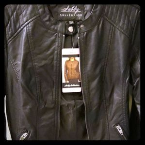 Jackets & Blazers - Leather jacket S/M or 6/10 n size